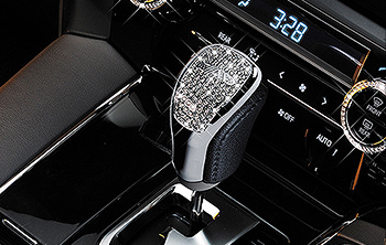 LUXURY CRYSTAL SHIFTKNOB COVER T-A