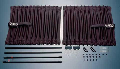 Garson Premium Luxury Curtain Side Window Model