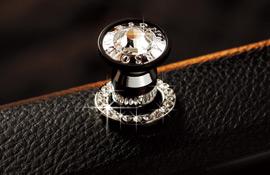 Product Description. Garson D.A.D Luxury Crystal Door Lock Ring