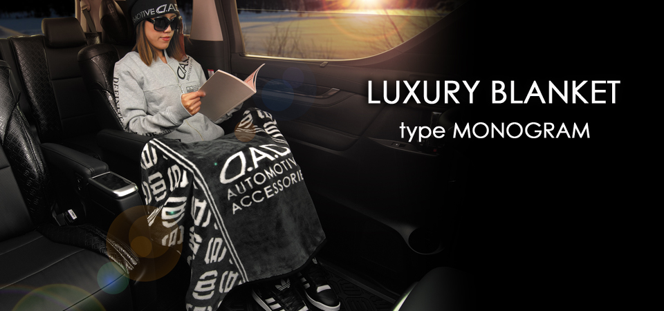 LUXURY BLANKET type MONOGRAM