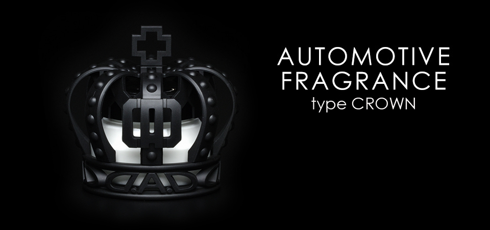 AUTOMOTIVE FRAGRANCE type CROWN WHITE MUSK