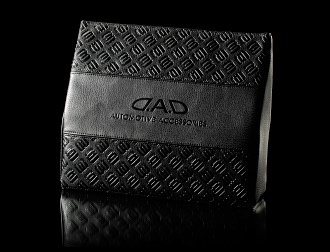 D.A.D WAIST CUSHION type MONOGRAM LEATHER